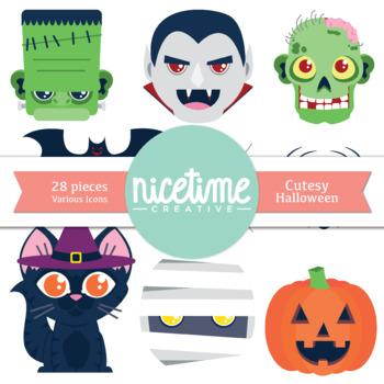 Halloween Icons- Freebie 28 Pack