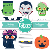 Halloween Icons- 28 Pack