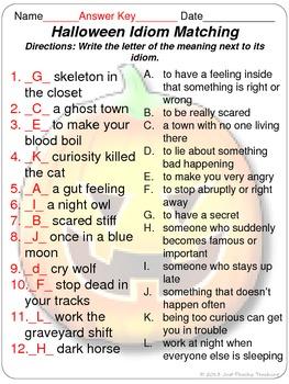 Halloween Idiom Concentration