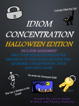 Halloween Idiom Concentration
