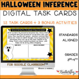 Halloween Inference Digital Task Cards   October Reading C