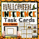 Halloween Inference Task Cards { Text, Picture, and Riddles }
