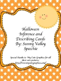 Halloween Inference and Describing Cards