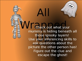Halloween Inferencing (Printable Game)