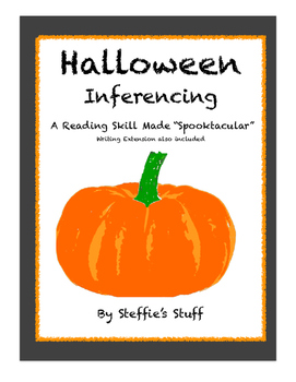 Halloween: Inferencing No Prep