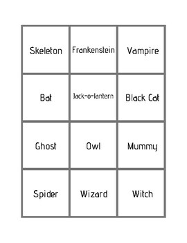 Halloween Inferencing: Who Am I? Guessing Game for Speech Therapy FREEBIE
