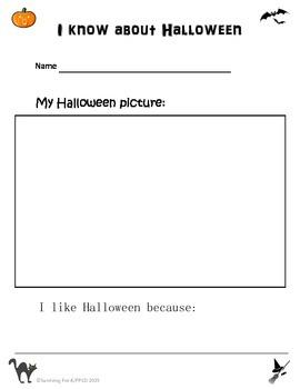 Halloween Info Sheet