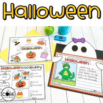 Halloween: Informational Interactive Read-Aloud Lesson Plans and Activities