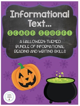 Halloween Informational Text & Expository Writing