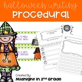 Halloween Informative Writing Common Core Aligned