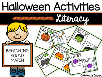 Halloween Beginning Sound Match