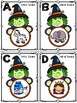 Halloween Initial Sounds Roam the Room / Task Cards