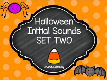 Halloween Initial Sounds SET TWO