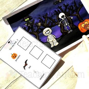 Halloween Instruction Activity