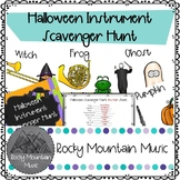 Halloween Instrument Scavenger Hunt