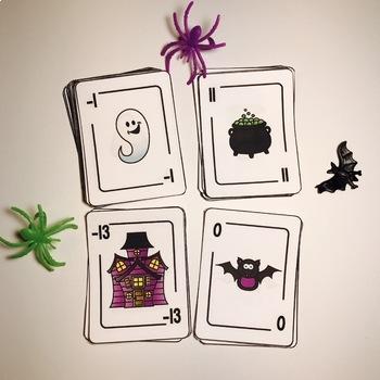 Halloween Integers Game