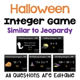 Halloween Integer Game