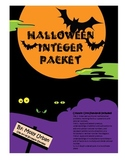 Halloween Integers With Common Core Standards