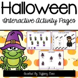 Halloween Activity Pages - INTERACTIVE!