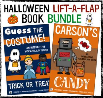 Halloween Interactive Book Bundle: Lift-A-Flap Books