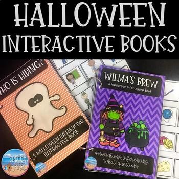 Halloween Interactive Books