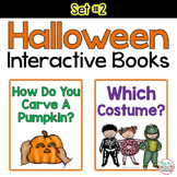 Halloween Interactive Books **SET 2**