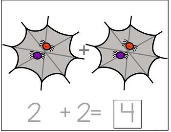 Halloween Interactive Counting  BUNDLE