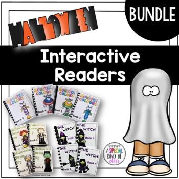 Halloween Interactive Easy Readers BUNDLE for SPED