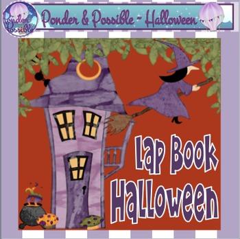 Halloween Interactive Flip Book - for publishing Halloween Story Writing