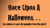 Halloween Interactive Idiom Activity