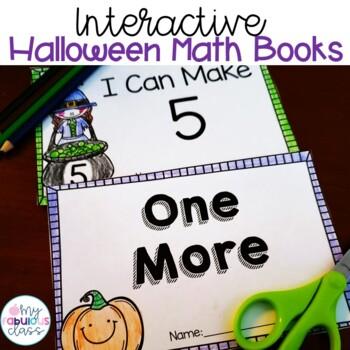 Halloween Interactive Math Books