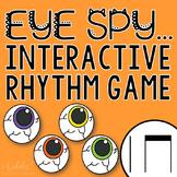 "Halloween Interactive Music Game- ""Eye Spy - Rhythm Game"" ta and titi"
