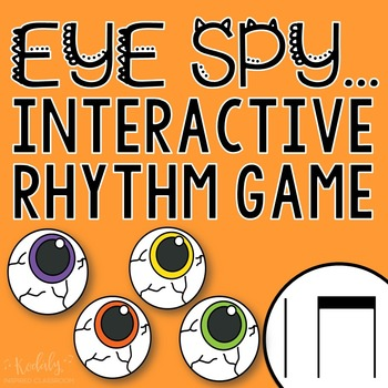 "Halloween Interactive Music Game- ""Eye Spy - Rhythm Game"" ta and titi"