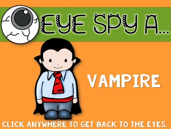 "Halloween Interactive Music Game- ""Eye Spy - Rhythm Game"" ta rest"