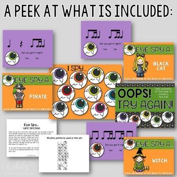 "Halloween Interactive Music Game- ""Eye Spy - Rhythm Game"" ti-tika"