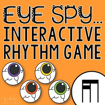"Halloween Interactive Music Game- ""Eye Spy - Rhythm Game"" tika-ti"
