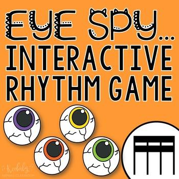 "Halloween Interactive Music Game- ""Eye Spy - Rhythm Game"" tika-tika"
