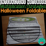Halloween Interactive Notebook Foldable Multiplication Strategies