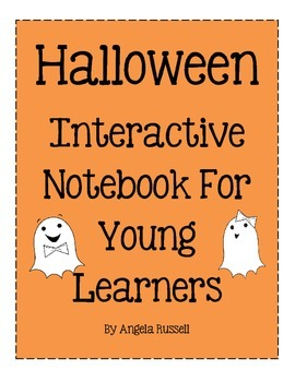 Halloween Interactive Notebook For Young Learners!