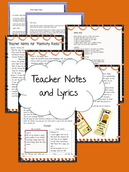 Halloween themed Interactive notebook and song