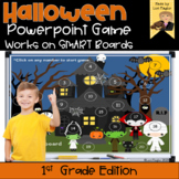 Halloween Interactive Powerpoint Math Game- First Grade Edition
