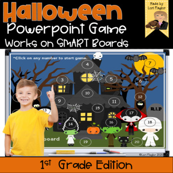 Halloween Interactive Powerpoint Math Game- First Grade Edition by ...
