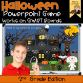 Halloween Interactive Powerpoint Math Game- Second Grade Edition