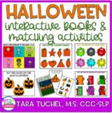 Halloween:  Interactive Visual Books and Matching Activiti