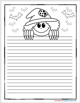 Halloween Intermediate Writing