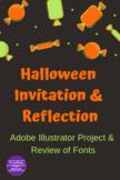 Halloween Invitation & Reflection