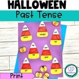 Halloween Irregular Past Tense Verb Match
