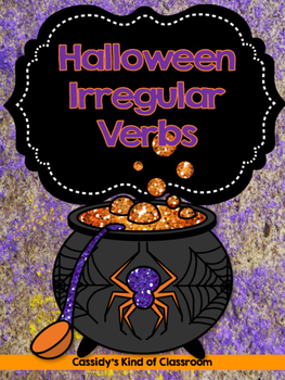 Halloween Irregular Verbs