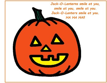 Halloween Is Coming Soon! - Song-To-Book Set [speech therapy and autism]