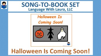 Halloween Is Coming Soon! {Song-To-Book Set}
